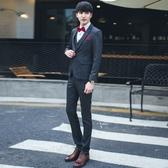 西裝套裝含西裝外套+西裝褲(三件套)-簡約時尚合身設計伴郎男西服73hc94【時尚巴黎】
