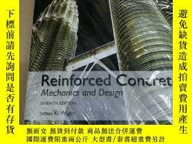 二手書博民逛書店Reinforced罕見Concrete: Mechanics