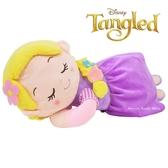 日本限定 迪士尼 長髮公主 樂佩公主 睡眠版 抱枕 玩偶娃娃 55cm