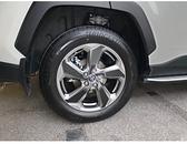 TOYOTA豐田【5代RAV4原廠鋁圈輪框貼膜】五代RAV4 輪框鋼圈貼紙 3M黑卡夢 車輪貼 保護鋼圈貼
