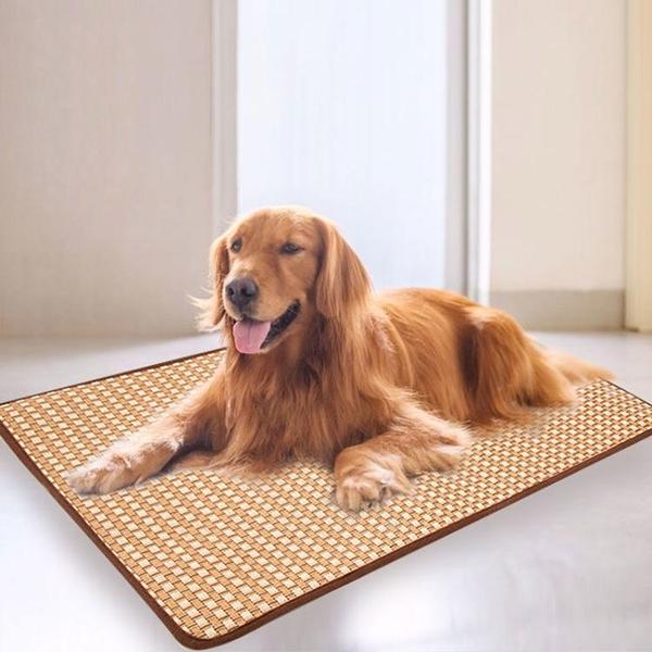 一佳寵物館 寵物涼席子狗狗冰墊貓咪用四季墊子狗窩夏天狗籠床墊涼墊耐咬降溫