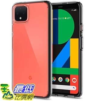 [9美國直購] Spigen 保護殼 B07TCQ8KDT Spigen Ultra Hybrid Designed for Google Pixel 4 Case (2019) - Crystal Clear