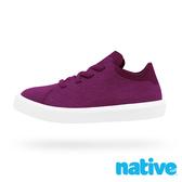 native 小童鞋 MONACO 短筒摩納哥休閒鞋-葡萄紫x貝殼白