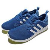 adidas 慢跑鞋 CC Fresh Bounce M 藍 白 基本款 運動鞋 男鞋【PUMP306】 AQ3128
