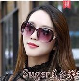 墨鏡太陽鏡女士新款潮變色墨鏡時尚圓臉偏光眼鏡大臉顯瘦  新品