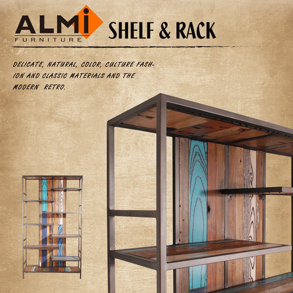 【ALMI】RECYCLED-BOOK CABINET 船板復古書架