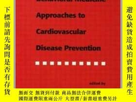 二手書博民逛書店Behavioral罕見Medicine Approaches to Cardiovascular Disease