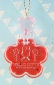 【震撼  】Hello Kitty 凱蒂貓KITTY 飾品盒附鏡紅花圖案