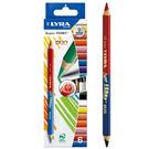 【德國LYRA】三角雙頭彩色鉛筆(12色)╭★ JOYBUS玩具百貨