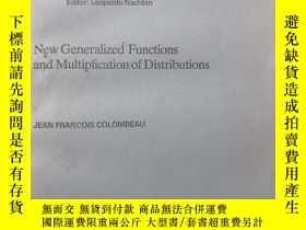 二手書博民逛書店New罕見Generalized Functions and M