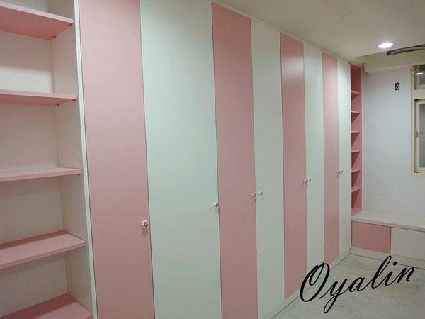 【歐雅系統家具】跳色門板衣櫥櫃
