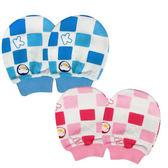 PUKU藍色企鵝 春夏印花手套 台灣製造 嬰兒手套 日月星媽咪寶貝館