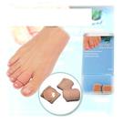 腳趾/手指保護墊-圓形凝膠2片.防磨拇指套姆趾套.拇囊炎腳骨非醫用矯正器