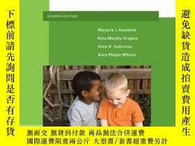 二手書博民逛書店Guiding罕見Children s Social Development And LearningY255