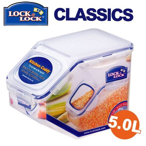 樂扣樂扣穀物收納盒保鮮盒5L密封盒HPL700米箱米桶-大廚師百貨