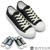 【OBIYUAN】MIT手工休閒鞋 百搭 文青風 低筒帆布鞋 共2色【Q2CM07】