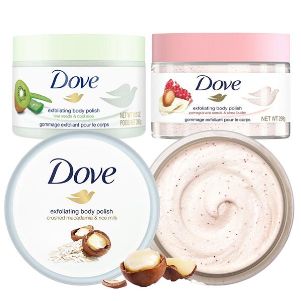 Dove 多芬 冰淇淋 去角質磨砂膏 298g 款式可選 身體去角質霜【PQ 美妝】