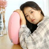 充氣u型枕 現貨 按壓充氣u型枕便攜U形頸椎枕旅行脖枕飛機坐車靠枕午睡吹氣護頸枕 宜品