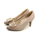 HUMAN PEACE 跟鞋 低跟 細跟 裝飾 可替換 粉色 女鞋 5454804 no263