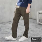 【JEEP】美式休閒工作長褲 (墨綠)