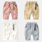 兒童寶寶破洞短褲子夏裝童褲韓版小童五分褲