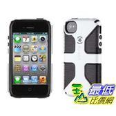 [美國直購] Speck SPK-A0798 Products Case for iPhone 4/4S - 1 - Retail Packaging - White/Black