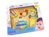 Toyroyal 樂雅 寶寶成長玩具禮盒/安撫玩具/咬咬玩具/抓握玩具/手指運動玩具