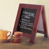 小尺寸立式小黑板 吧臺桌面創意廣告板宣傳板留言板 雙面可寫多色