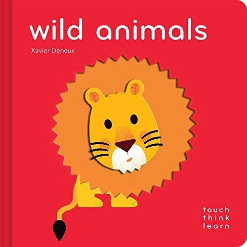 Touch Think Learn:Wild Animals 野生動物 厚紙硬頁認知書
