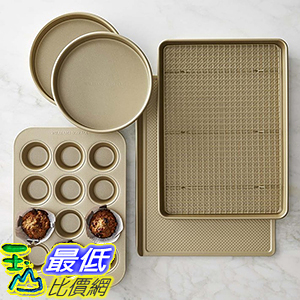 [美國直購] Williams-Sonoma Goldtouch Nonstick 6-Piece Essentials Bakeware Set 烘培用具