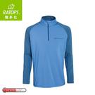 【Ratops 瑞多仕 男Thermolite暖衣(袖配色)《海洋藍/藍》】DB6006/中層衣/保暖長袖/休閒長袖