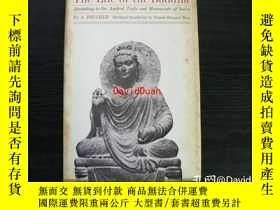 二手書博民逛書店the罕見life of the Buddha ; according to the ancient text a