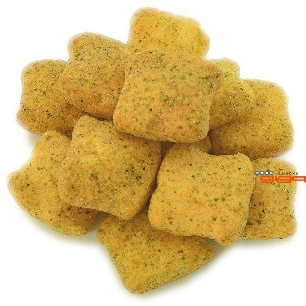 【吉嘉食品】雞塊鬆餅(黑胡椒/海苔) 300公克 [#300]