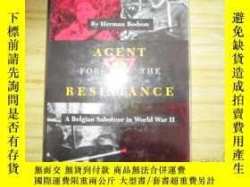 二手書博民逛書店Agent罕見for the Resistance: A Bel