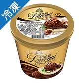 杜老爺enjoy冰淇淋-比利時巧克力733±15g/ 桶【愛買冷凍】
