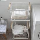 北歐家用洗衣籃臟衣籃衣婁換洗衣物臟衣服收納筐ins風分層臟衣簍 樂活生活館