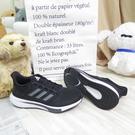 ADIDAS 愛迪達 EQ21 RUN 男款 慢跑鞋 輕量 避震 H00512 黑 大尺碼【iSport愛運動】