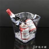 雙耳KTV酒吧方形啤酒桶 亞克力香檳桶 紅酒桶  伊鞋本鋪