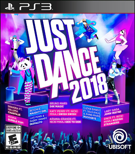PS3 舞力全開 2018(美版代購)