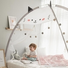 蚊帳可折疊回型無底卡通兒童蚊帳可愛家用蒙古包1.5m床1.2m米 【快速出貨】