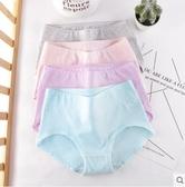 女士內褲棉質底襠棉質面料少女大碼性感中腰三角褲4條禮盒裝