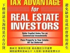 二手書博民逛書店The罕見1031 Tax Advantage For Real