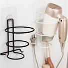 免打孔鐵藝吹風機架 壁掛架 浴室 收納架 強力吸盤 廁所 置物架 廚房【N443】MY COLOR
