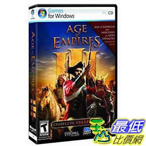 [106美國直購] 2017美國暢銷軟體 Age of Empires III: Complete Collection