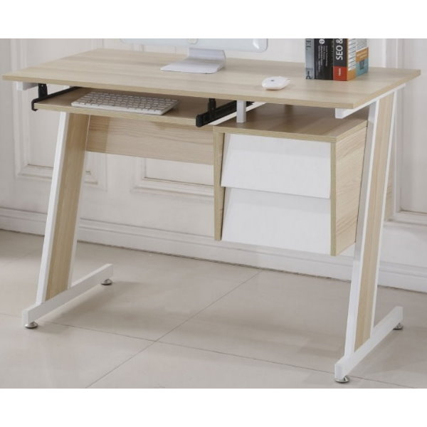 書桌 電腦桌 SB-826-1 史考特3.5尺梧桐二抽電腦書桌 【大眾家居舘】