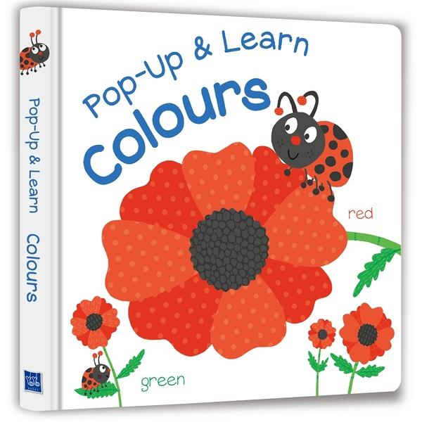 【Listen & Learn Series】Pop-Up & Learn Colours(可愛互動立體書:認識顏色)(附美籍教師朗讀音檔)
