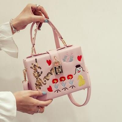 國際新流行盒子包手提包娃娃女包...6色...流行線