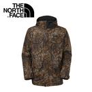【The North Face 男 HV HS 保暖外套 花斑棕印花】 CNZ1/保暖外套