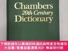 二手書博民逛書店Chambers罕見20th Century Dictionary (New Edition 1983)Y20