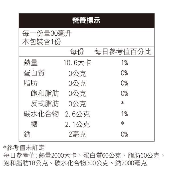 (1包) 專品藥局 虎泰水溶薑黃飲EX 30ml/包 (添加薑黃素 蘿梨果 枳椇子 應酬必備) 【2013210】